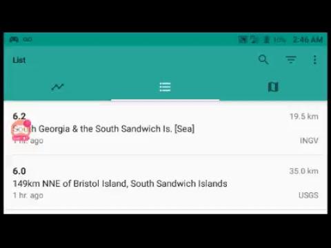 breaking Earth huge 6.3 6.0 and 5.3 south sandwich island