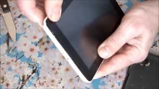 Huawei MediaPad 7 Lite - неполная разборка планшета