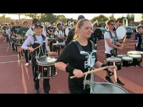 Sounds Of Conejo Megaband Rehearsal