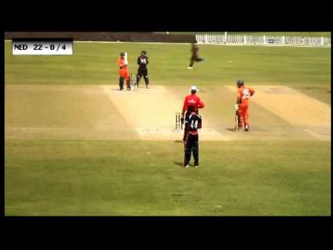 Nepal VS Netherland cricket ICC World Twenty20 Qualifiers 2013
