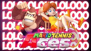 HWSQ #175 - LOLOLOLOOO.. HASS HASS HASS ● Let's Play Mario Tennis Aces