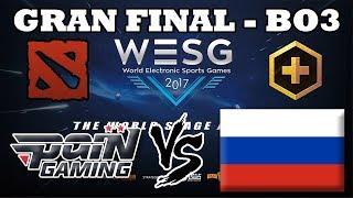 DOTA 2 EN VIVO - Pain Gaming vs Rusia GRAN FINAL WESG 2017 BO3