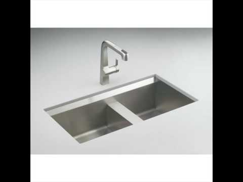 Undermount Kitchen Sinks with Cutting Board UK - YouTube