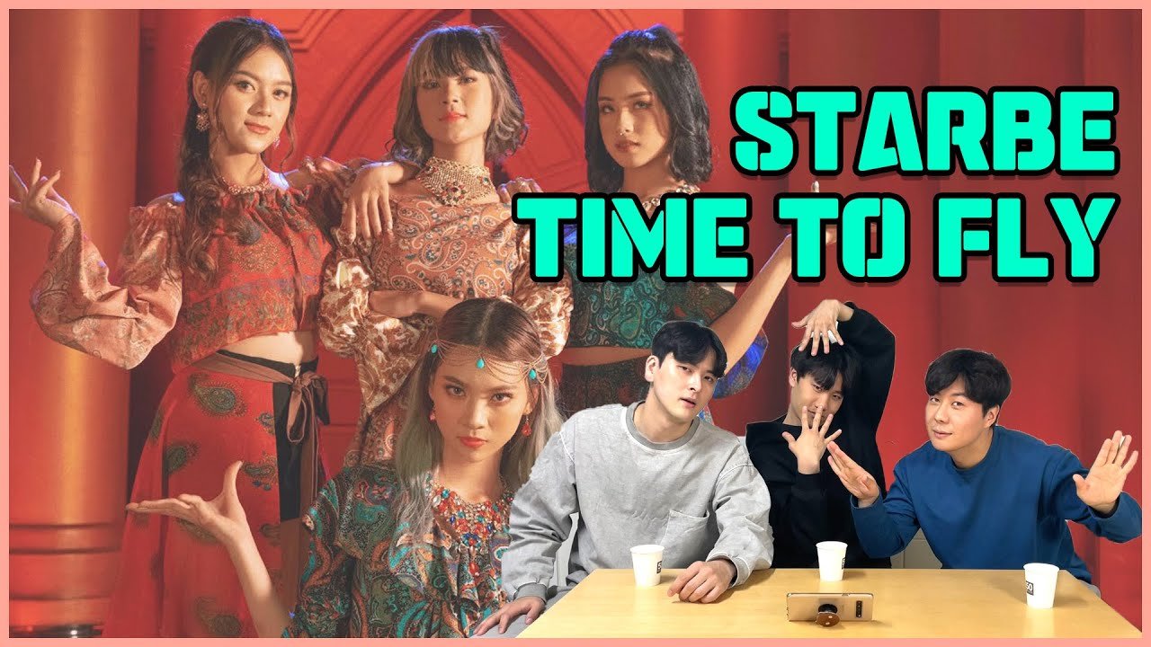 KOREAN OPPA REACTS TO StarBe - 'Time To Fly' M/V | Indonesia