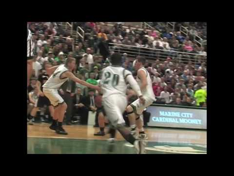 Muskegon Western Michigan Christian vs. Cardinal Mooney - 2010 Class D Boys Hoops Final