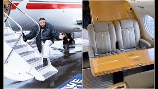 DJ Khaled Gives Tour Of His $4M Luxurious G650 Private Jet