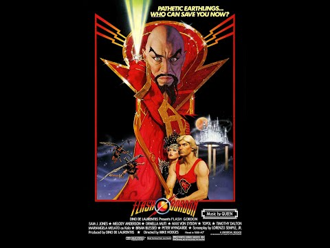 Flash Gordon 1980 Opening Sequence Best HD Version on YouTube!