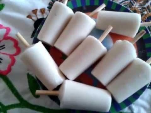 Como Hacer Paletas De Hielo Con Yogurt Y Platano
