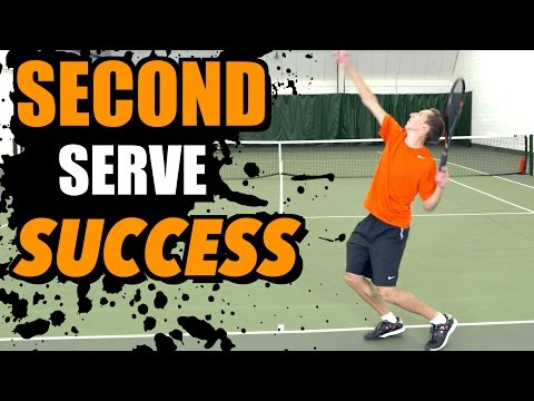Second Serve Success - Tennis Lesson