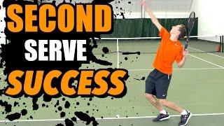 Second Serve Success - Tennis Lesson