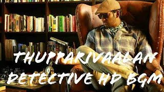 Thupparivaalan Detective Theme BGM | High quality Audio | Vishal | Arsool