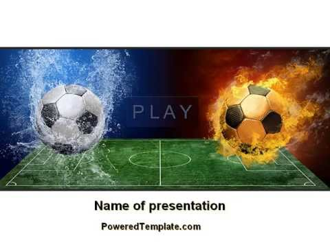 Free football league powerpoint template by poweredtemplate free football league powerpoint template by poweredtemplate toneelgroepblik Images
