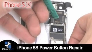 How To: iPhone 5s Power Button & Volume Button Replacement