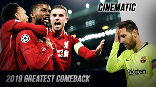 Anfield's Miracle - The most incredible comeback of 2019