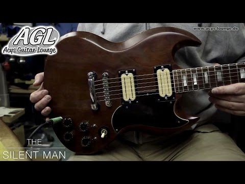 AGL 1972 Gibson SG old Bill Lawrence Pickups