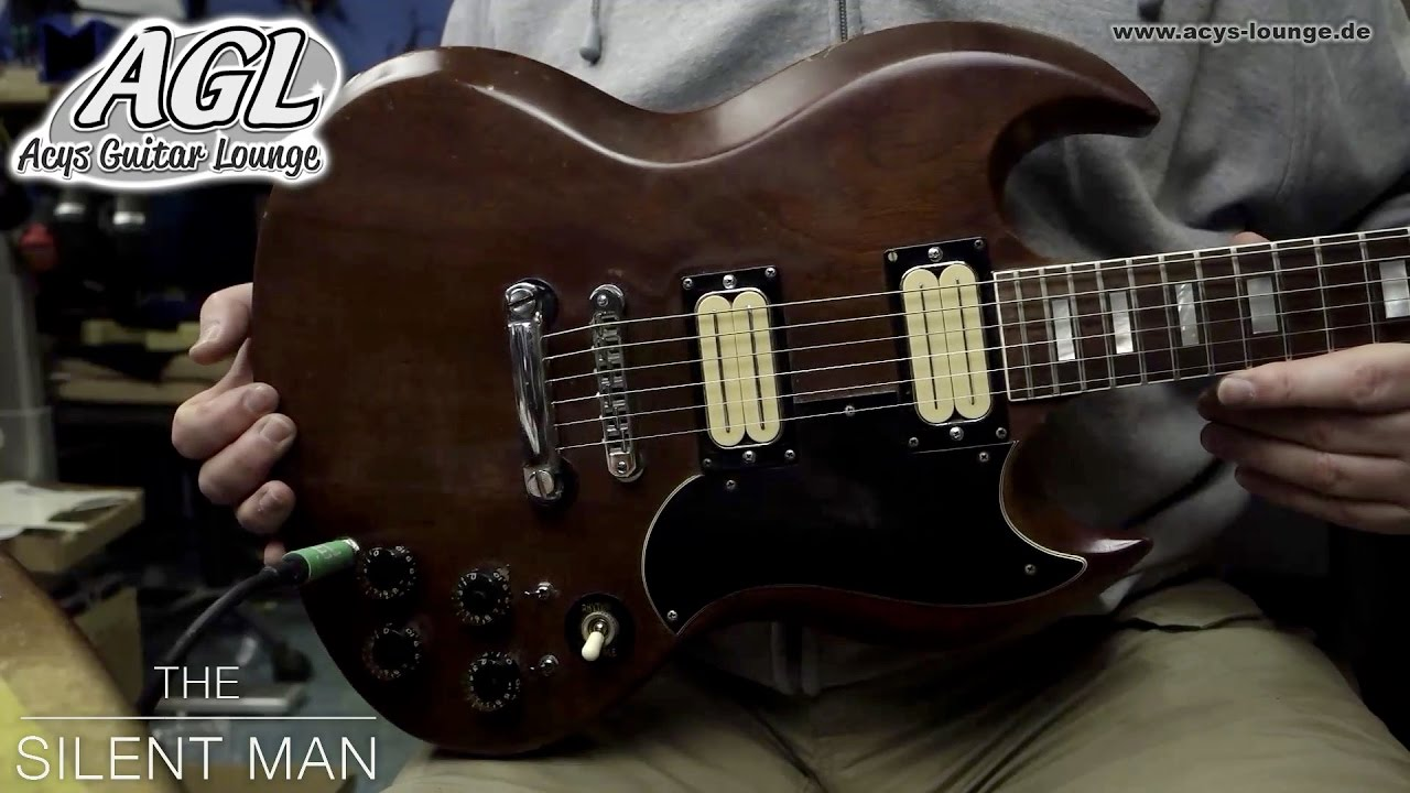 agl 1972 gibson sg old bill lawrence pickups [ 1280 x 720 Pixel ]