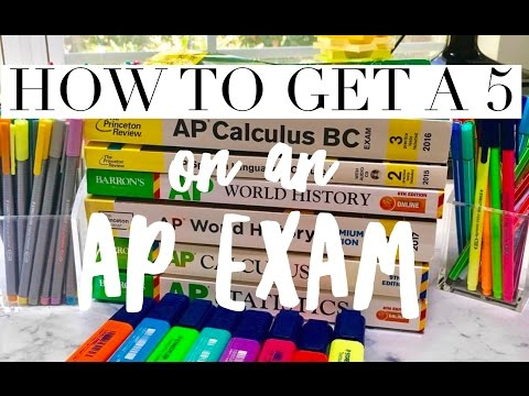 AP EXAM TIPS: How To Pass/Get a 5 on AP Exams