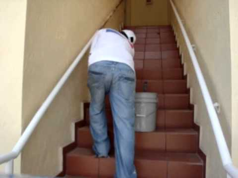 How To Painting Stair Bars