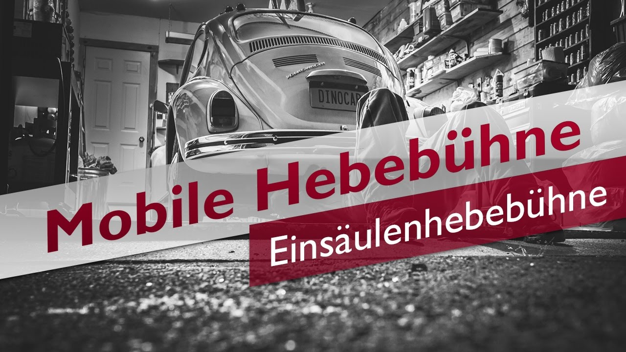 Top Mobile Einsäulenhebebühne | MobileHebebuehnen.de @IZ_41
