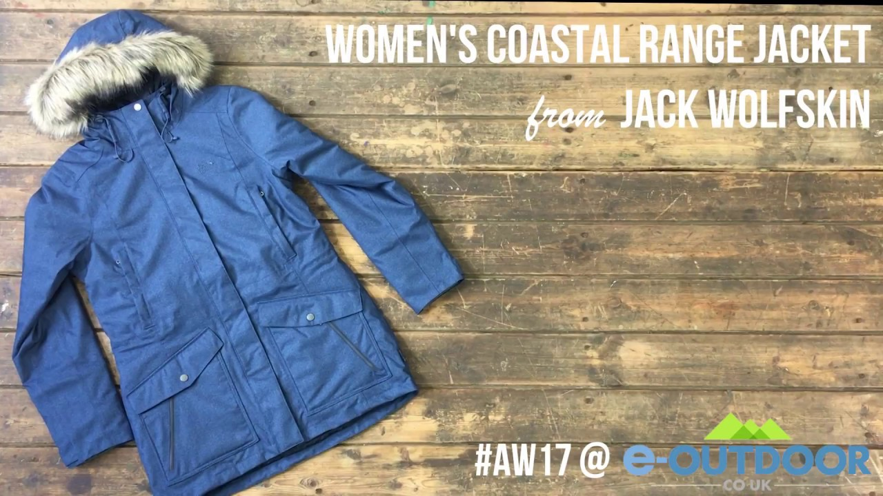 9fbccf016aa A closer look at the Women's Coastal Range Jacket Jack Wolfskin
