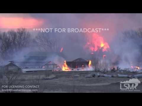02-10-17 Boulder, CO - Brush Fire Burns Down Homes