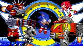 Repeat youtube video Top 5 Classic Sonic Boss Battles - SonScotty
