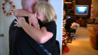Son Surprises Mom for Christmas