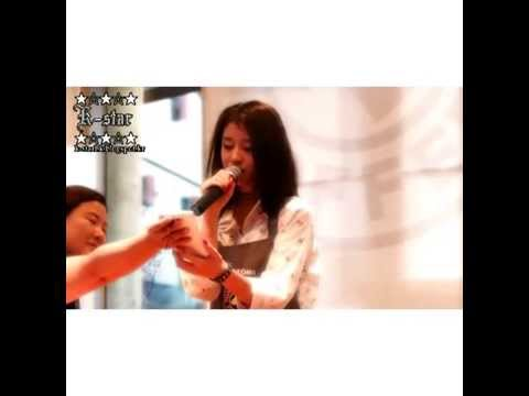 140610 Jiyeon singing Puppet/Marionette live at Tom N Toms Fanmeet Event