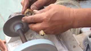 Cara - Proses Pemotongan Batu Cincin
