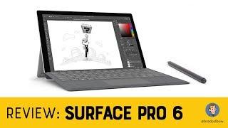 Surface Pro 6 - An Artist