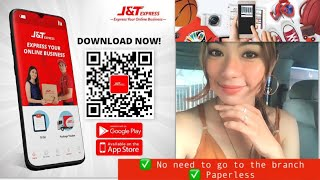 J&T Express l  BOOK ONLINE DROP OFF - HOW TO USE J&T APP PAPERLESS l J&T Express Delivery Process screenshot 4