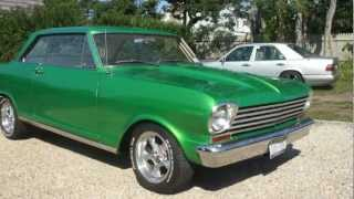 1963 Chevy Nova II For Sale~350 .30 Over~TCI 3 Speed Automatic Trans~10 Bolt 355 Posi