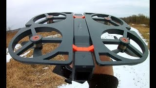 Funsnap iDol Drone AFTER CRASH GPS CAMERA Test DRONE Review