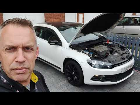 Diagnostic consultation and Engine Carbon Clean on a VW Scirocco 2.0 TDI (2010 - 97,513 miles)