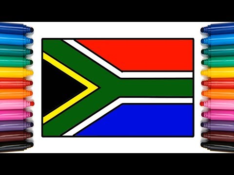 South africa flag colors rgb