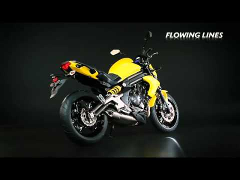 Kawasaki ER-6n 2012 Studio Video