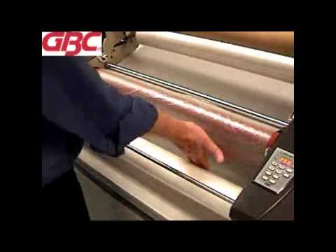 GBC Catena 65 - 1715840 - Loading the Film While Hot Demo