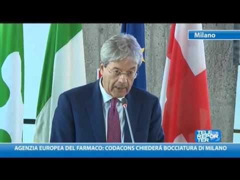 Agenzia europea del farmaco: Codacons chiederà bocciatura Milano