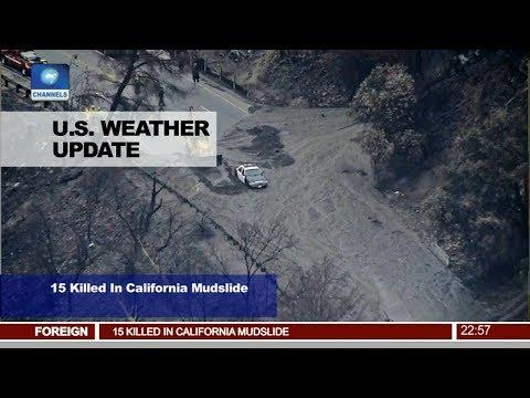 15 Killed In California Mudslide Pt.4 |News@10| 10/01/18