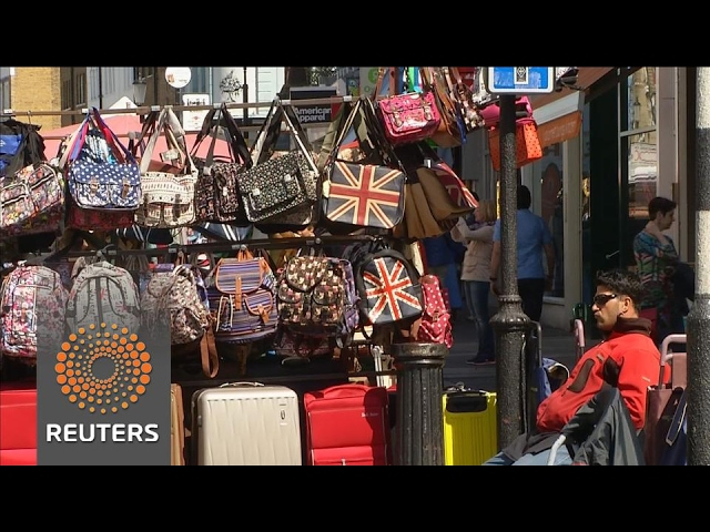 UK retail sales slide in three months to February