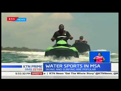 Water sports gaining attraction in the Kenyan coast, Mombasa