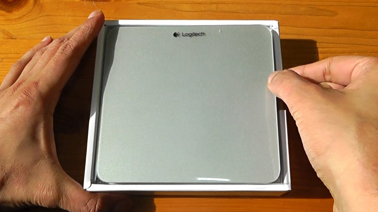Logitech T651 Bluetooth Rechargeable Trackpad For Mac