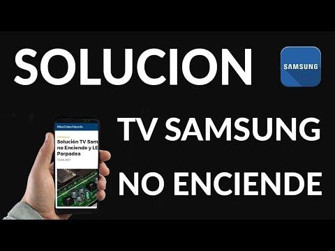 Solución TV Samsung no Enciende y LED Parpadea