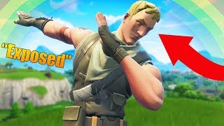 Being EXPOSED as a Fake *NO SKIN* in Fortnite: Battle Royale