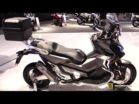 2017 Honda X-Adv 750 Maxi Scooter - Walkaround - 2016 EICMA Milan
