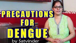 Precautions for Dengue by Satvinder Kaur Thumbnail