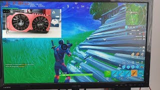 Cheap Budget Pc Build Fortnite at 144ps fps GTX 960 4GB $80 Epic to Medium Settings