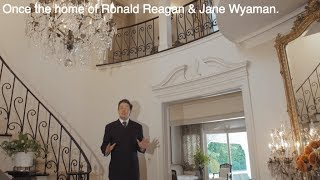 Former Ronald Reagan home by Paul Williams - SOLD by Christophe Choo of Coldwell Banker Real Estate