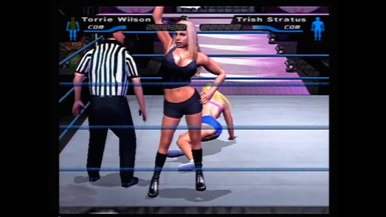 WWE Smackdown Here Comes the Pain Bra and Panties Match Tournament ... 56134cb84