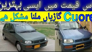 Used Cuore Car | Cheap used ca…